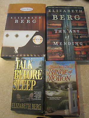 Lot 4 Books by Elizabeth Berg 2 paperback 2 hardcover
