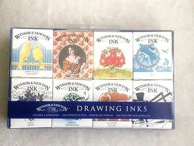 Winsor And Newton Drawing Inks Henry Collection Brand New