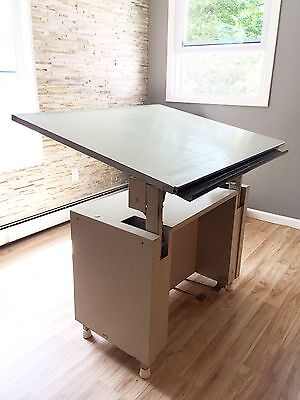 Stacor heavy duty industrial Drafting Table