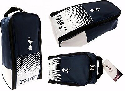 Tottenham Hotspur Fc Football Shin Pad Boot Bag Kids School Gym Spurs Bootbag Fd