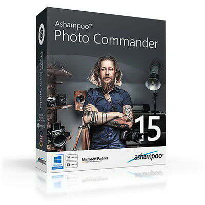 Ashampoo Photo Commander 15 eng. fullversion download 9,99 instead of 49,99 !
