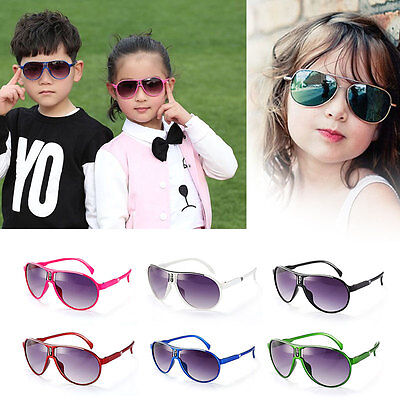 Rezi Kids Boys Girls Sunglasses Mirror Sunscreen Oculos De Sol Feminino