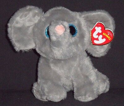 TY WHOPPER the ELEPHANT BEANIE BABY - MINT with MINT TAGS