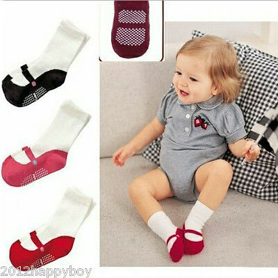 Newborn  Baby Girl Lovely Anti-Slip Socks Shoes Booties Warm Boots Gift