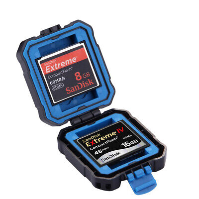 Waterproof Camera Memory Card Storage SD CF Carrying Protecter Case Box