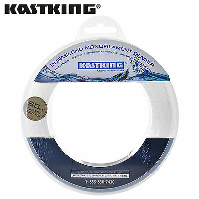 KastKing DuraBlend Nylon Fishing line Saltwater Monofilament Leader Line 110m