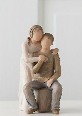 Willow Tree Figurine You and Me Husband & Wife Couple Together Susan Lordi 26439