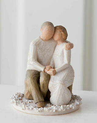 Willow Tree Figurine Anniversary Cake Topper By Susan Lordi  26453
