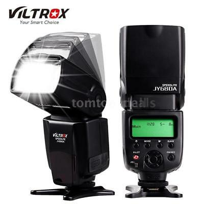 VILTROX JY680A Flash Speedlite Light GN33 for Canon Nikon SONY Panasonic Camera