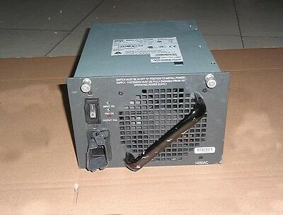 Cisco PWR-C45-1400AC Catalyst 4500 1400W AC Power Supply Used Tested
