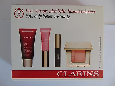 Clarins You only better set - BB cream, Lip perfector, mascara & Blush Prodige