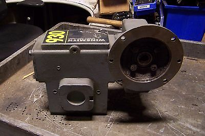 "Winsmith 50:1 Worm Gear Speed Reducer 1.30 In Hp 1750 Rpm 5/8"" Bore 930Mdnd"