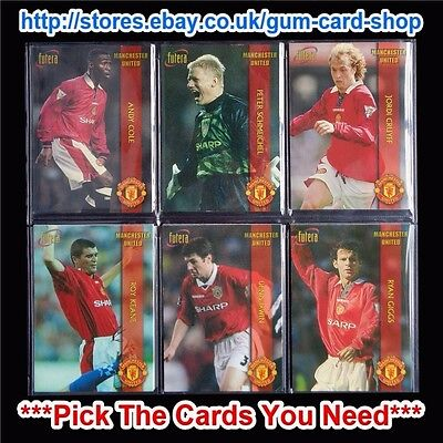 Futera - Manchester United 1998  *Pick The Cards You Need*