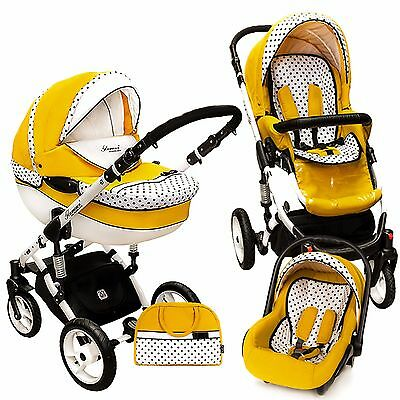 "Stroller DP ""Summer"" 3 in 1 Pram Pushchair Buggy Car Seat  Travel system"