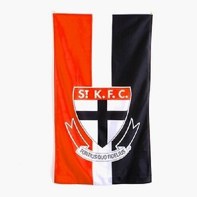St Kilda Saints AFL Supporters Cape Wall Flag 90 by 150cm!