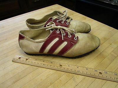 Rare Vintage 1960s New Balance Trackster running Shoes Ripple Sole