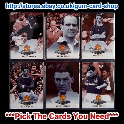 Futera - Manchester United - Platinum Greatest 1998 *Pick The Cards You Need*
