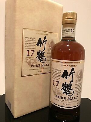 Nikka Taketsuru 17 Year Old Pure Malt Japanese Whisky 700ml