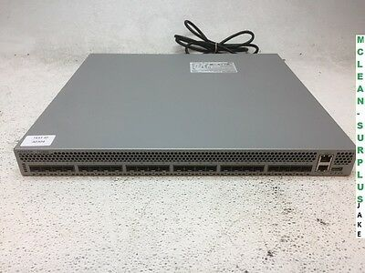 Arista DCS-7124SX 24 10GbE SFP+ Rack Mountable Switch - Tested Reset - Fair Cond