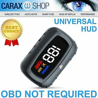 Universal KM/Hr Head Up Display HUD OEM Speeding Alarm Warning without OBD2