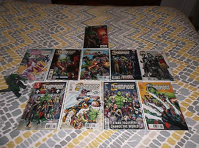 Champions 1 - 10 Current New Series All First Prints Marvel Comics