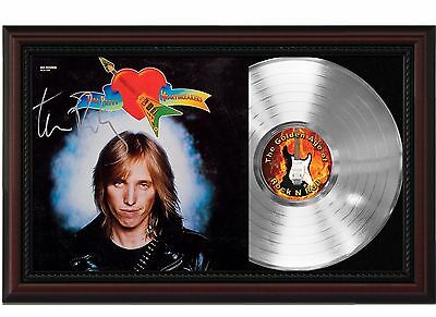 "Tom Petty - Heartbreakers Platinum Cherrywood Signature Display ""M4"""