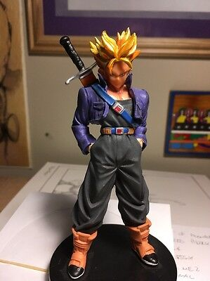 Dragon Ball Z Super Saiyan Trunks PVC Figure