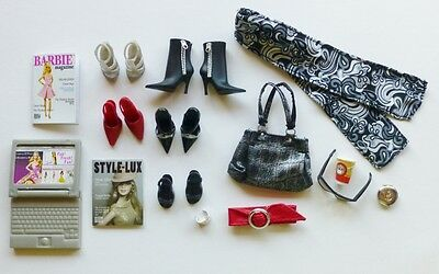 Barbie Black Label Basics Look No 1 Accessories Collection 001 DeBoxed Complete