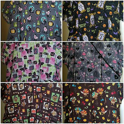 3x scrub tops lot
