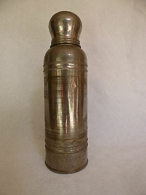 Antique vintage collectable icy hot vacumn bottle unusual for Interesting bottle shapes