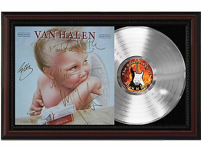 "Van Halen - Baby Platinum Cherrywood Signature Display ""M4"""