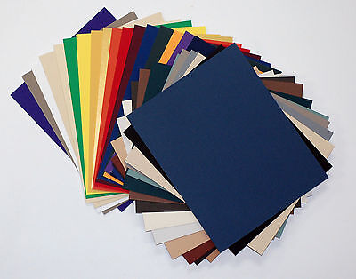 Matboard Mat Board 16x20 , (50) Pack, No Opening, Uncut, Solid Assorted C