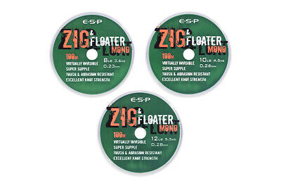 Esp Zig And Floater Mono Line - 100M - All The Sizes