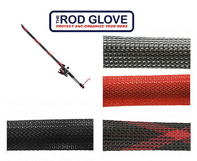 """THE ROD GLOVE FOR 2-PIECE SPINNING RODS JACKET 29"""" select colors"""