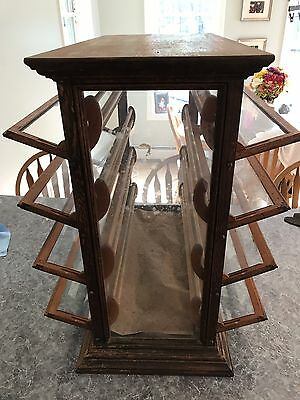Display Case General Store Ribbon Cabinet A.n. Russell Sons 1800's 19th Century