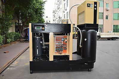 30 HP Rotary Screw  Compressor Integrated Air Dryer- Double tank