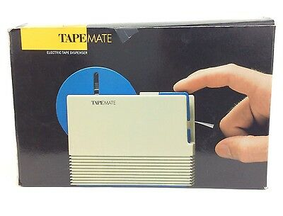 TAPEMATE Electric Tape Dispenser Adhesive Tape Cutter For 3/4 Inch Tape Desktop