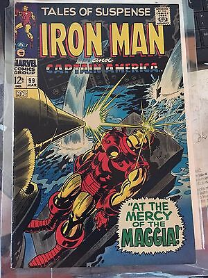 Tales Of Suspense # 99  1967    At The Mercy Of The Maggia !          Vf  8.0
