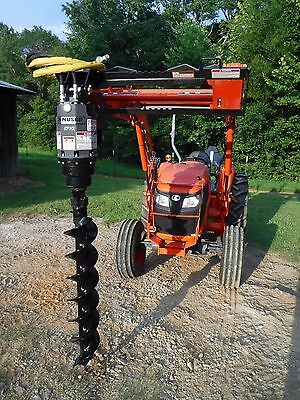 "Kubota Tractor Attachment - Danuser EP 10 Hex Auger with 9"" Bit - Ship $199"