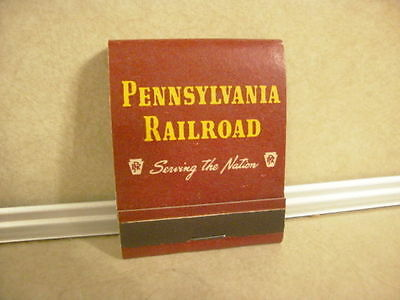 Vintage Collectible Advertising Matchbook Matches PRR Pennsylvania Railroad Nice