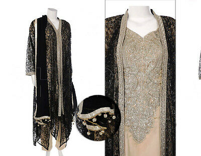 Indian Pakistani Ready-Made Designer Party Wear Shalwar/ Kameez Suit (Stitched)