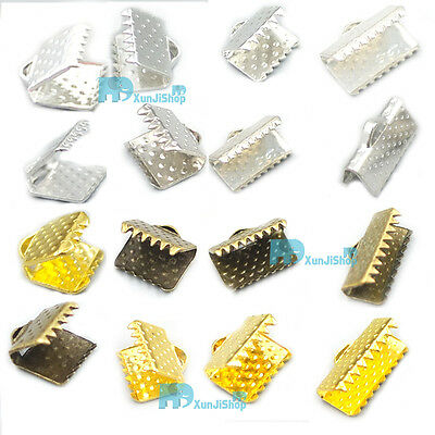 Ribbon Clamps Pock Ribbon Crimp Ends & Cord Clamps Ribbon Crimp Ends Shipped