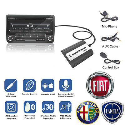 Car Stereo Bluetooth MP3 Player Wireless Music Receiver for Fiat / Alfa Romeo