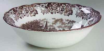 J & G Meakin STRATFORD STAGE-BROWN Round Vegetable Bowl 997692