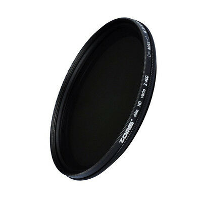 Zomei Variable Neutral Density Filter Fader ND2-ND400 52/55/58/62/67/72/77/82mm