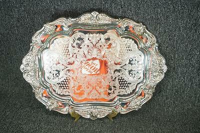 "Oneida Silverplate Serving Tray 20"" X 15 1/4"""