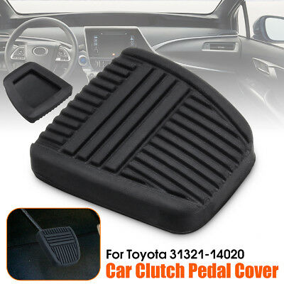 Black Rubber Clutch & Brake Pedal Braking Replacement Pad For Toyota 31321-14020