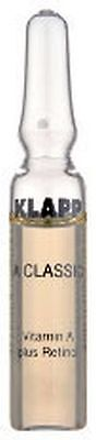 KLAPP A CLASSIC VITAMIN A PLUS RETINOL 6x2 ml