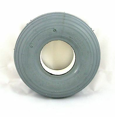 1 of 260x85 3.00-4 Solid Rib Grey Mobility Scooter Tyre 300x4