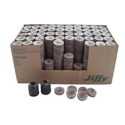 Jiffy-7 Peat Pellets 41mm Horticulture Seed Cutting Plant Propagation Transplant